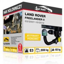 Hak holowniczy Land Rover FREELANDER II, 03/2007-10/2012, wypinany pionowo (typ 03026/VM)