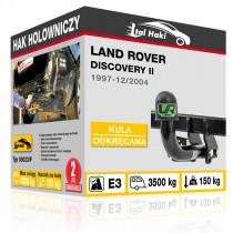 Hak holowniczy Land Rover DISCOVERY II, 1997-12/2004, odkręcany (typ 03023/F)